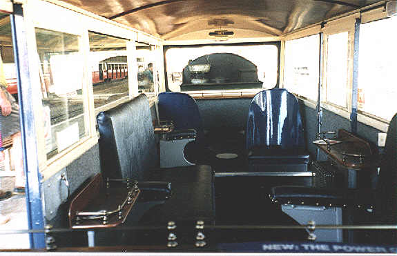 Bar Car Interior